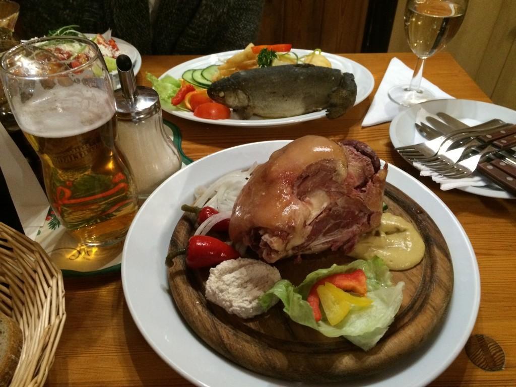 czeska golonka na obiad