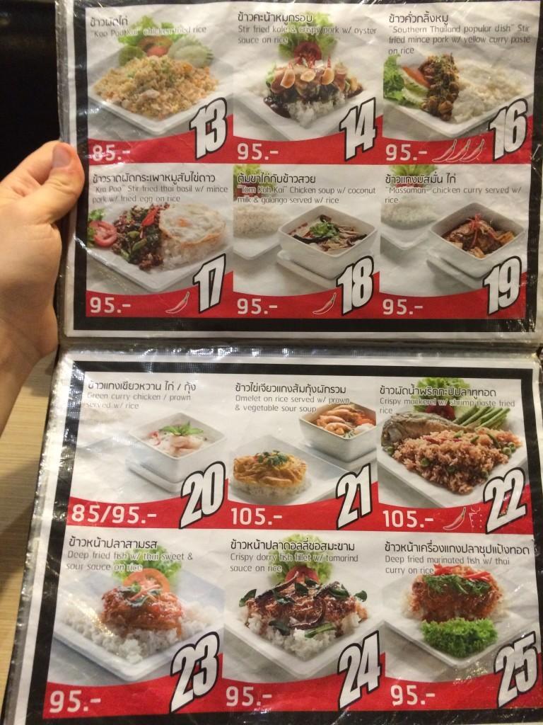 Bangkok Tajlandia ceny żywności