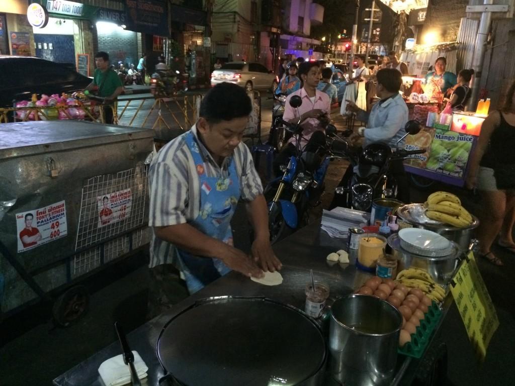 Bangkok Thailand KhaoSan Road street food