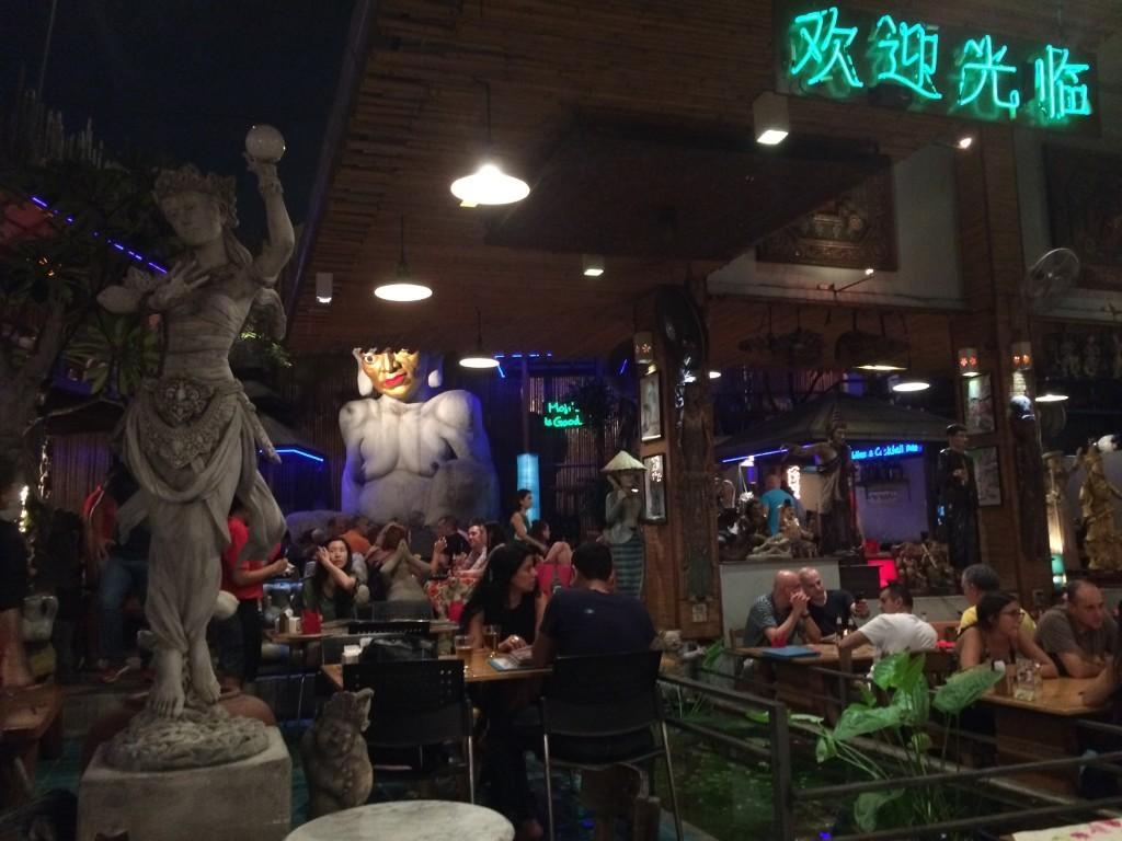 Bangkok Thailand KhaoSan Road restaurant My Darling