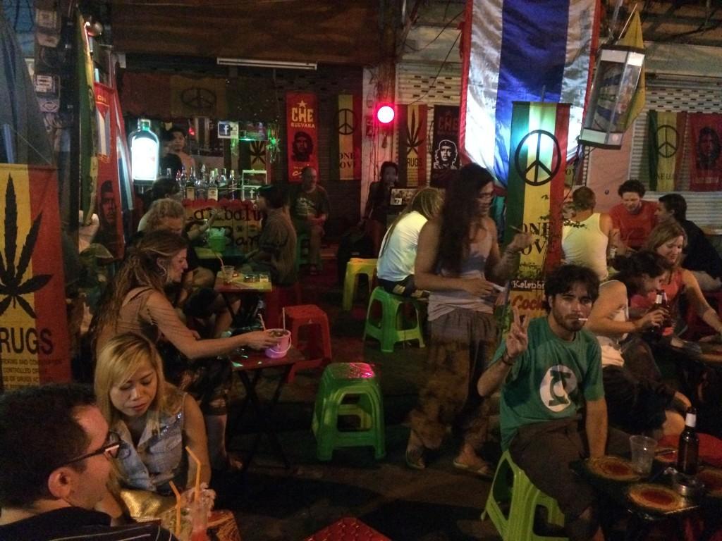 Bangkok Thailand KhaoSan Road