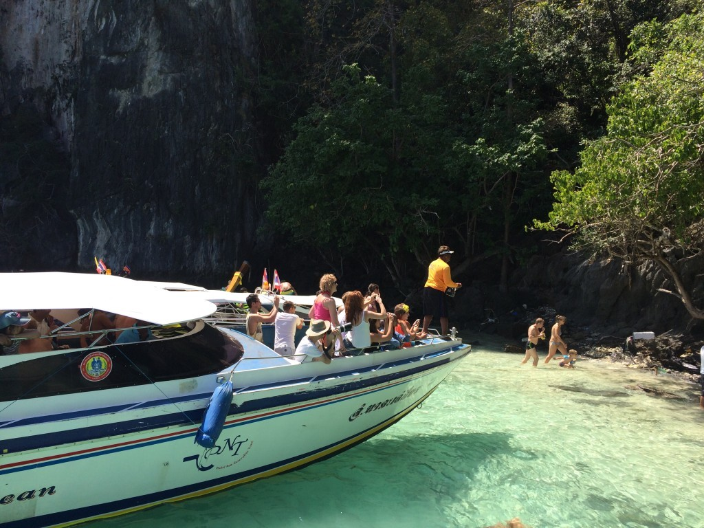Monkey Beach, Phi Phi Island, Thailand