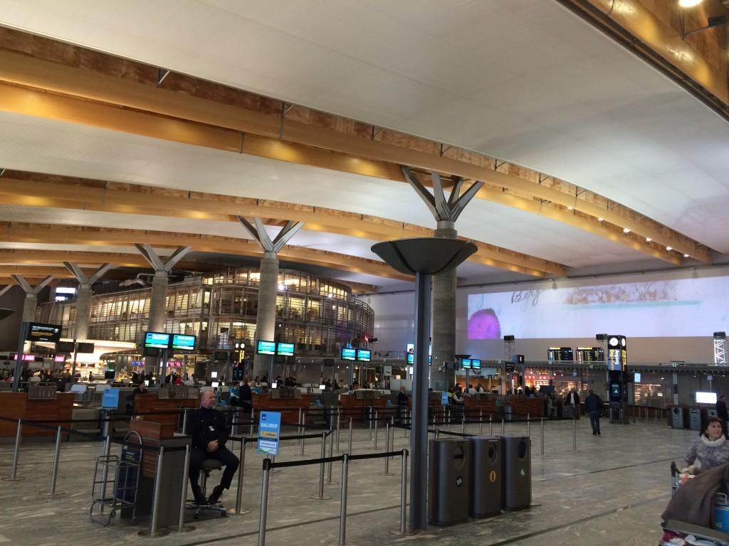 Lotnisko Gardermoen w Oslo