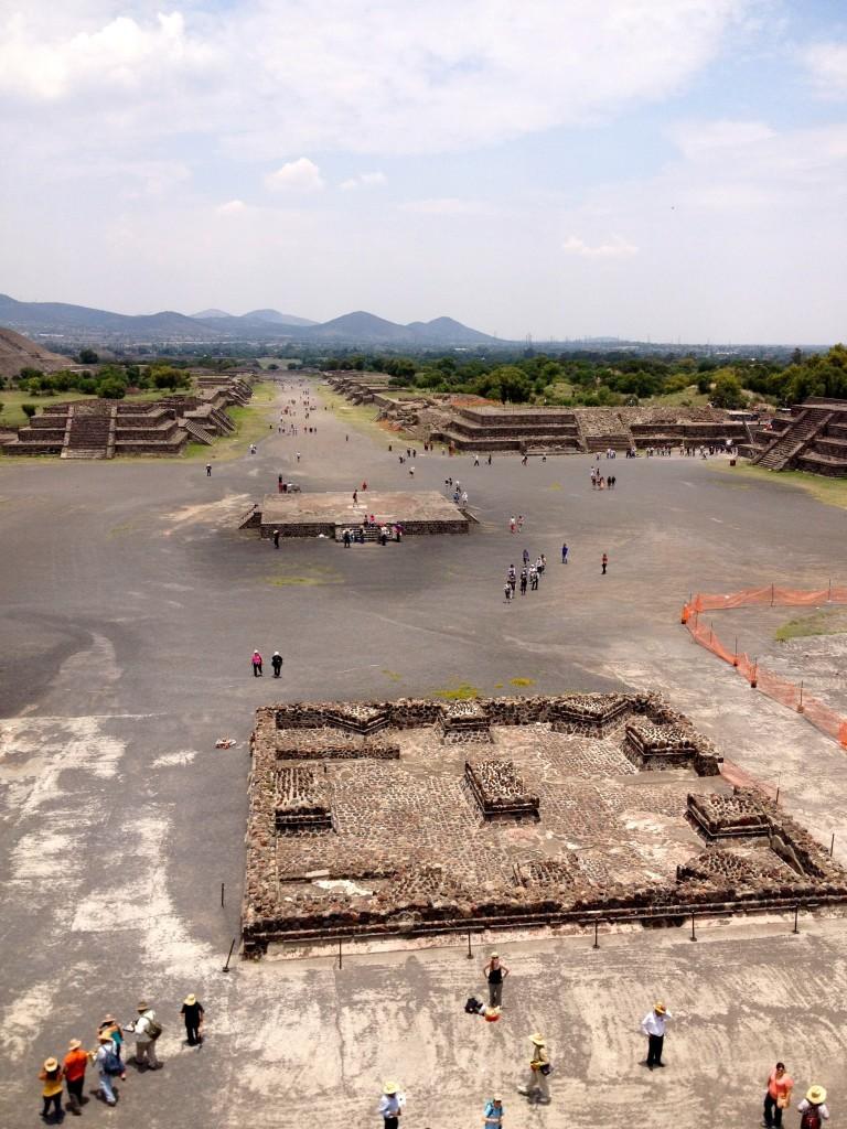 Meksyk Teotihuacan - Aleja Umarłych