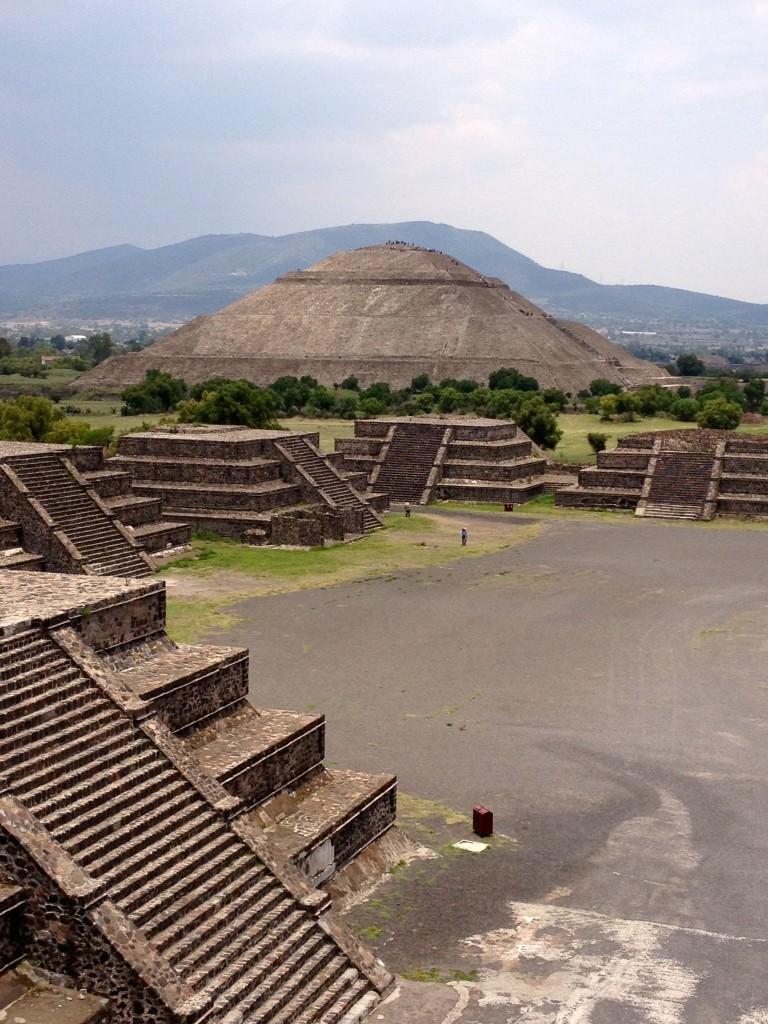 Meksyk Teotihuacan - Piramida Słońca