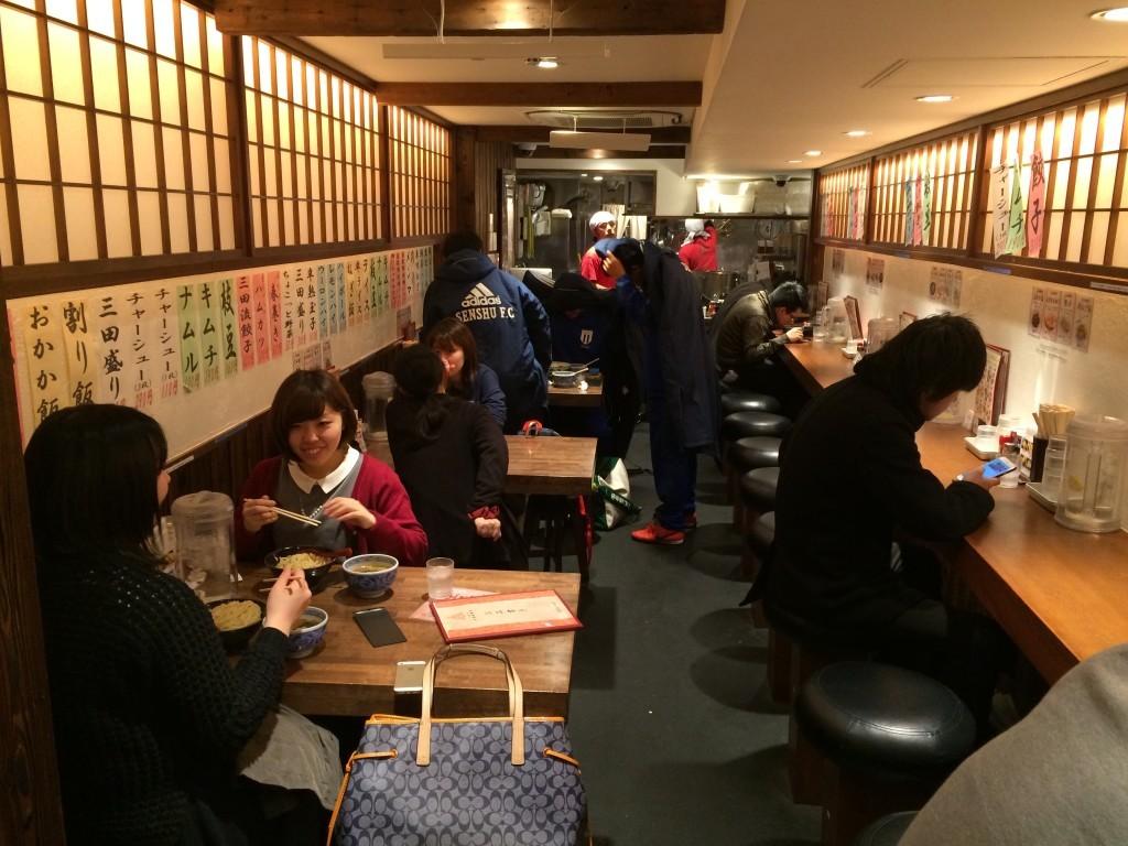 Japonia Tokio restauracja sushi Shibuya