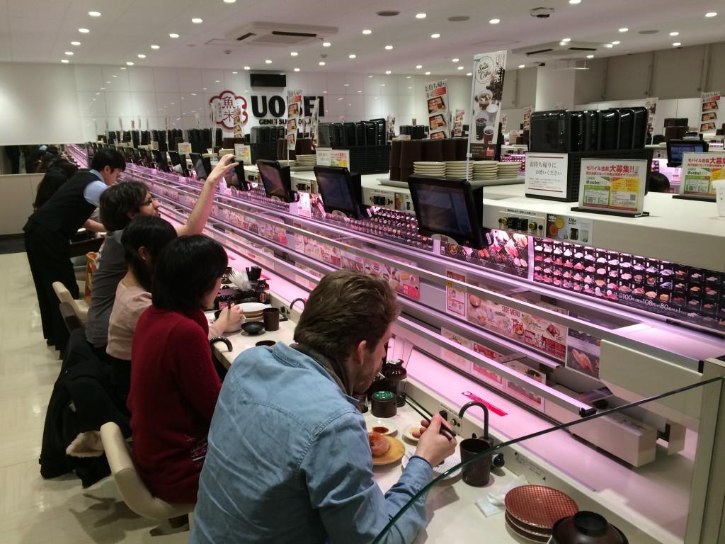 To nie jest wbrew pozorom zakład kosmetyczny - tylko restauracja sushi.