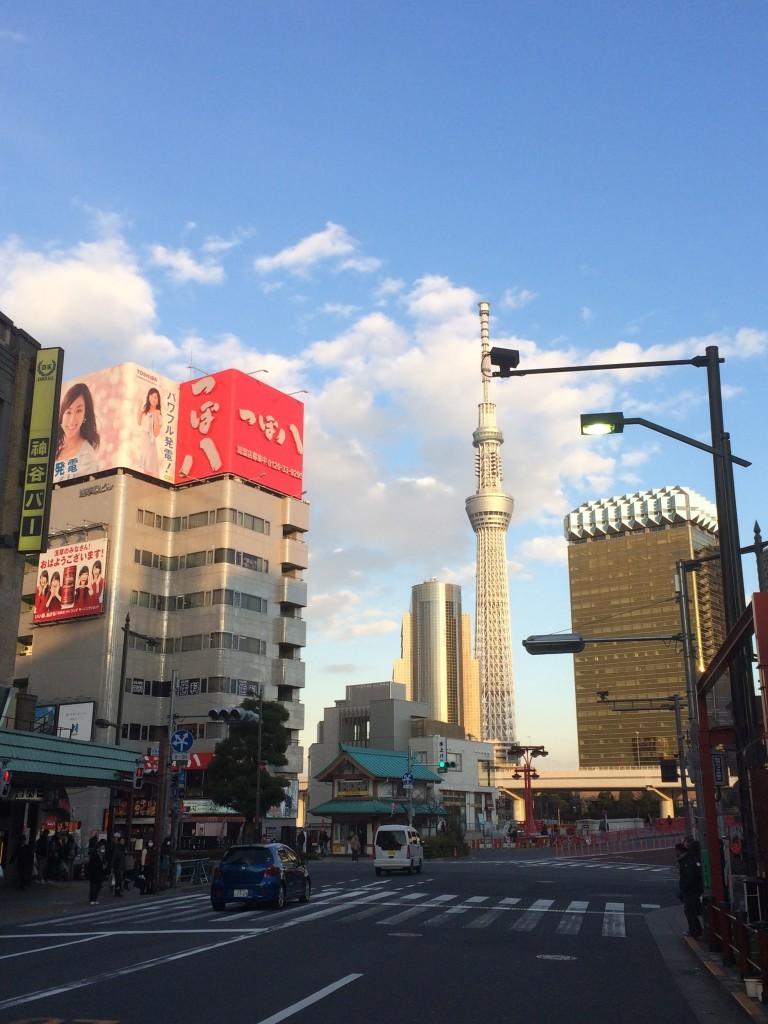 Tokyo Skytree - najwyższa wieża telewizyjna na świecie.