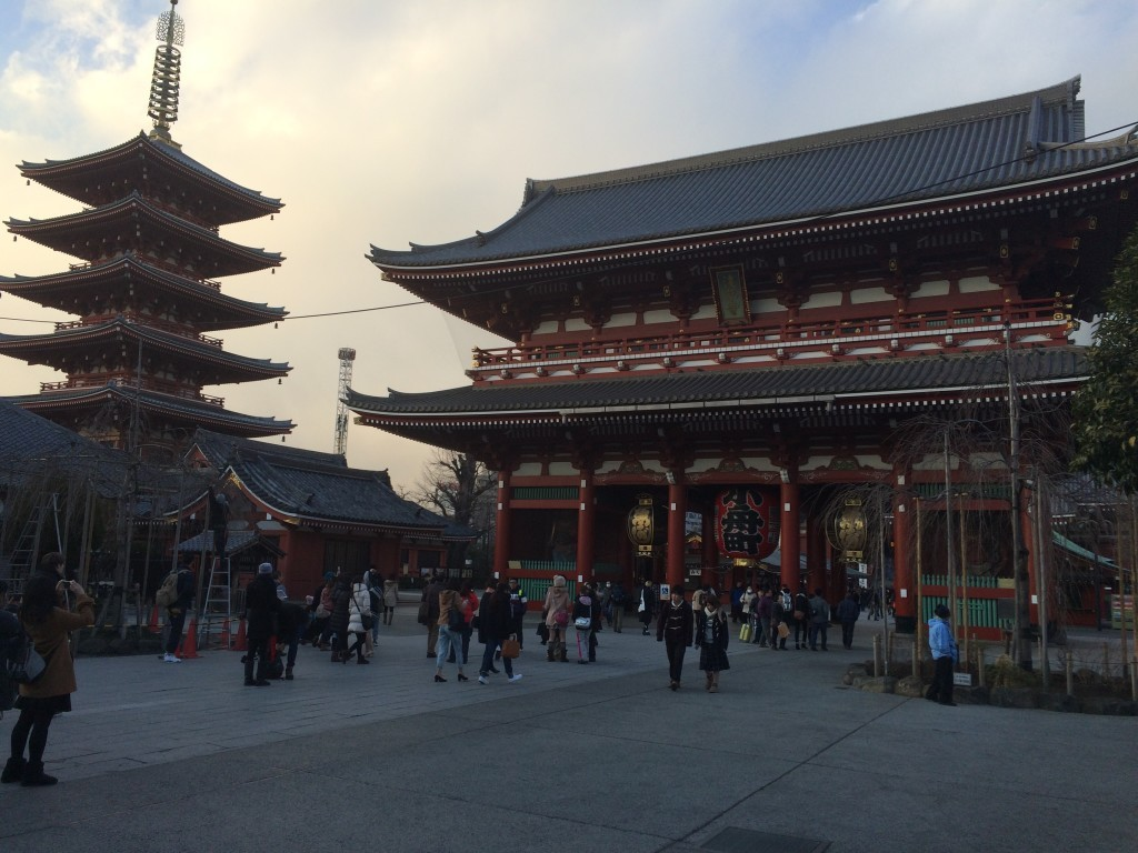 Japonia Tokio Asakusa Senso-ji