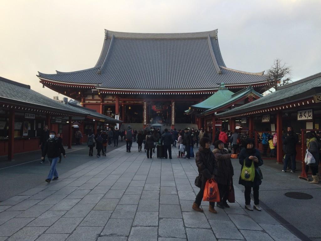 Główny plac świątyni Senso-ji