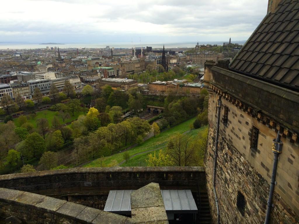Szkocja Zamek w Edynburgu