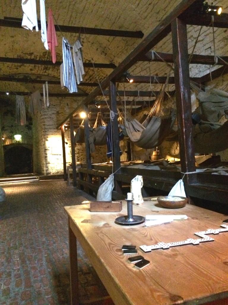 Szkocja Zamek w Edynburgu - Prisons of War
