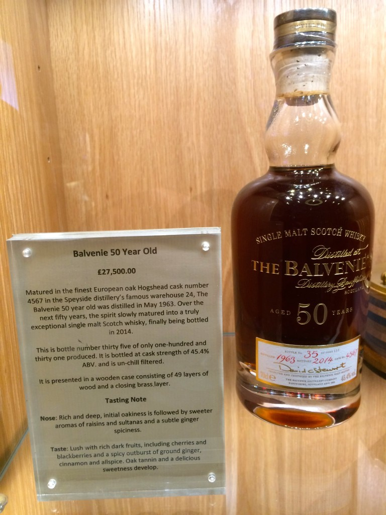 To właśnie buteleczka tej whisky warta jest 27 500 funtów!