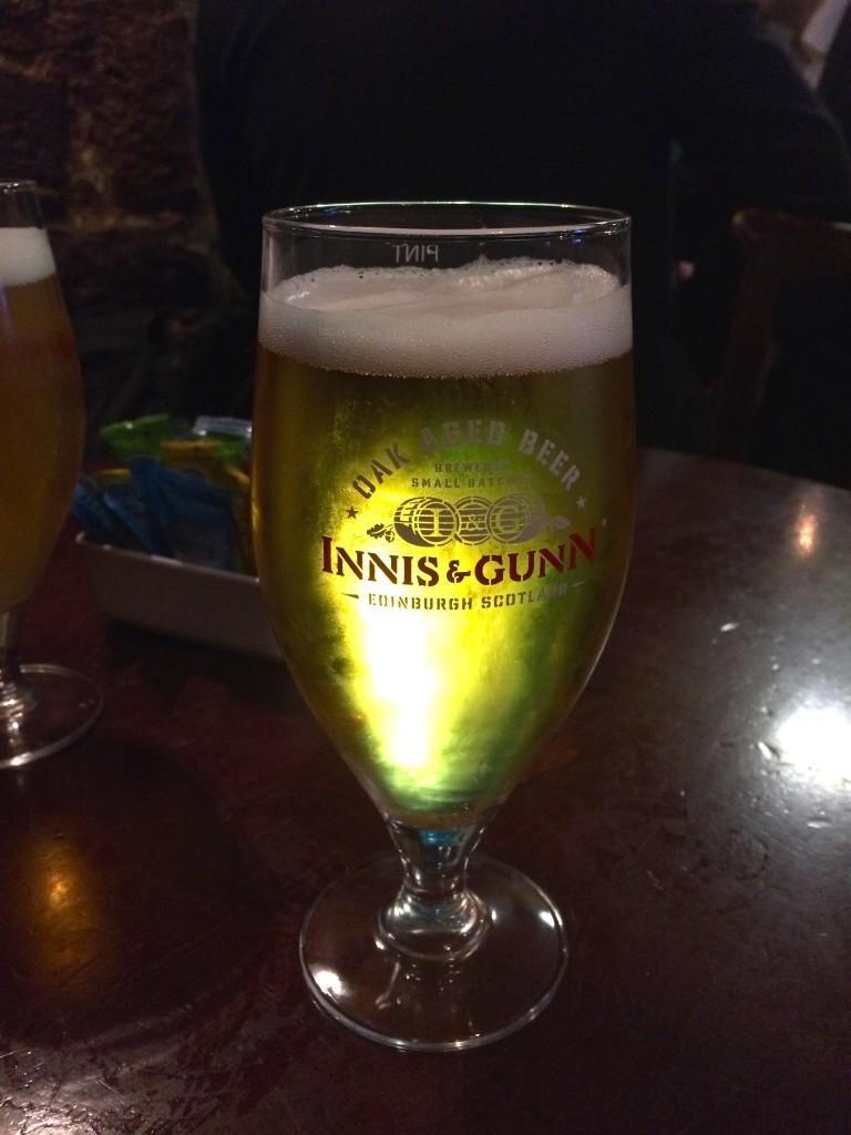 Najpyszniejsze szkockie piwko Innis & Gunn