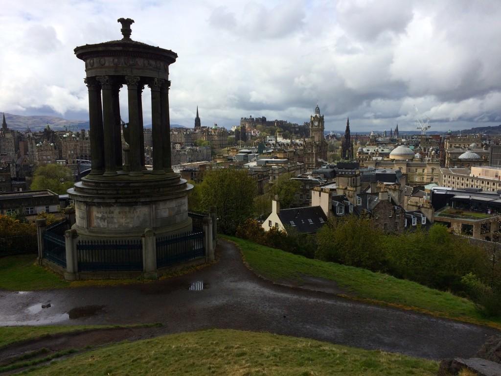 Najpopularniejsza oraz najpiękniejsza panorama Edynburga.