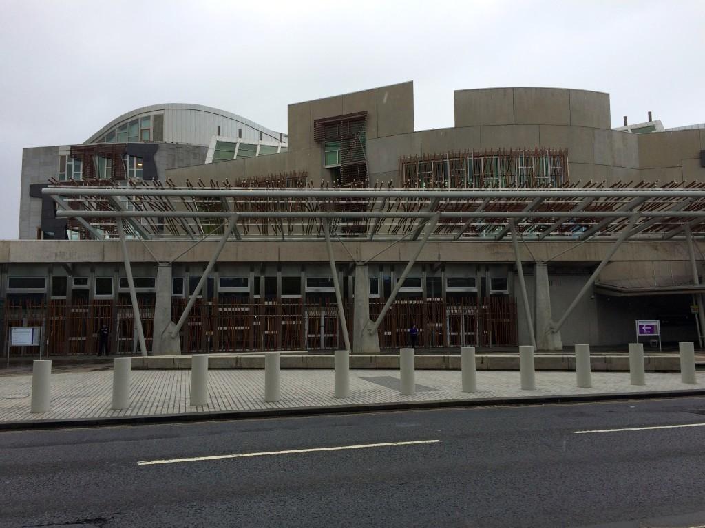 Budynek Szkockiego Parlamentu