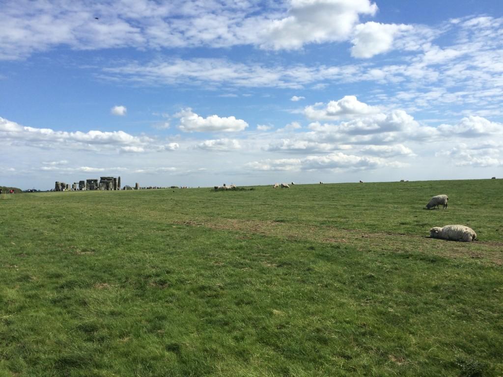 Malownicze tereny wokół Stonehenge