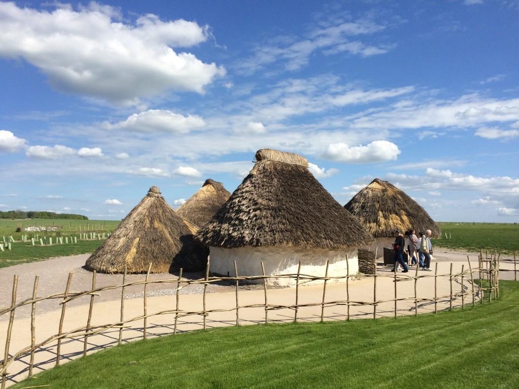 Neolityczna wioska ludzi zamieszkujących obecne tereny 4,500 lat temu