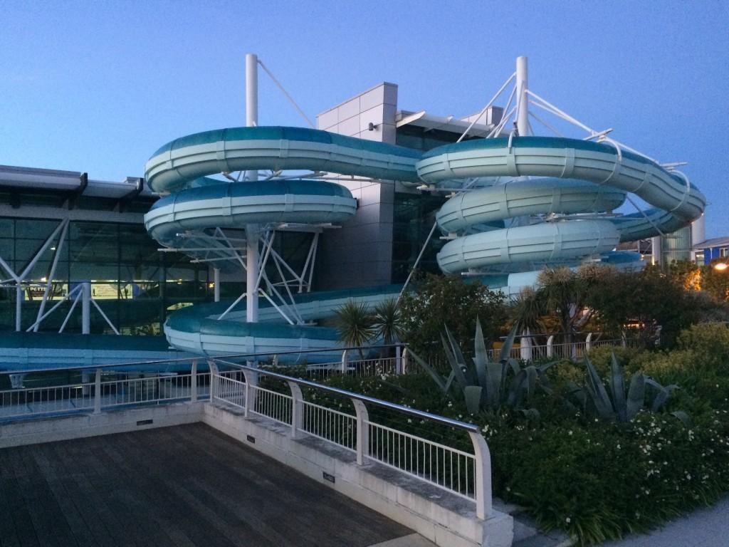 Bardzo fajny aquapark wybudowany w najnowszej części wyspy, zaraz obok portu.