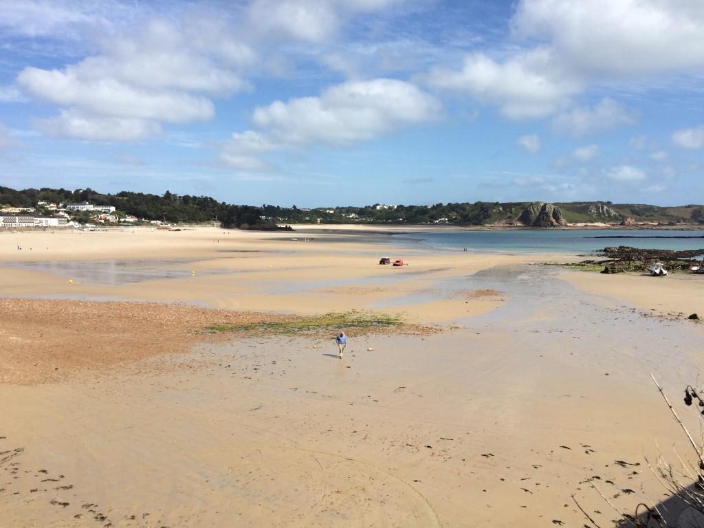 Plaża St. Brelades Bay