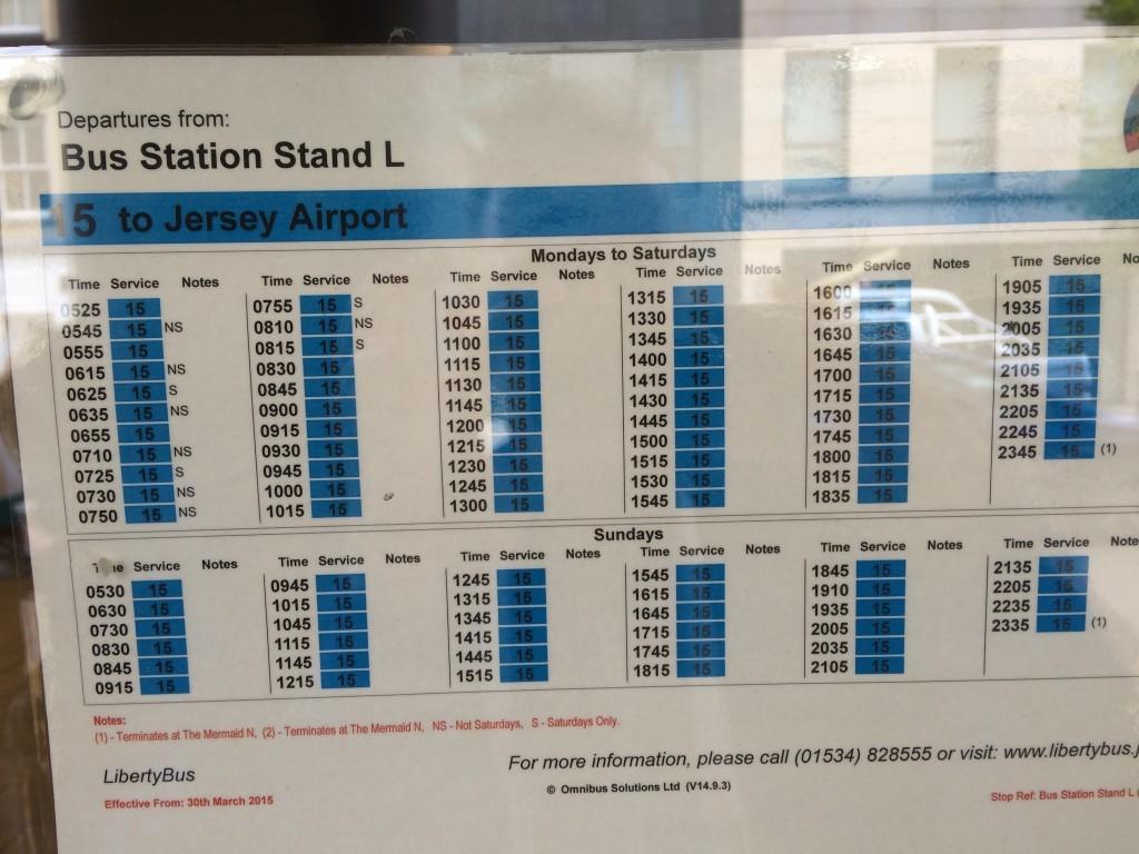 Rozkład jazdy autobusów kursujących na lotnisko.