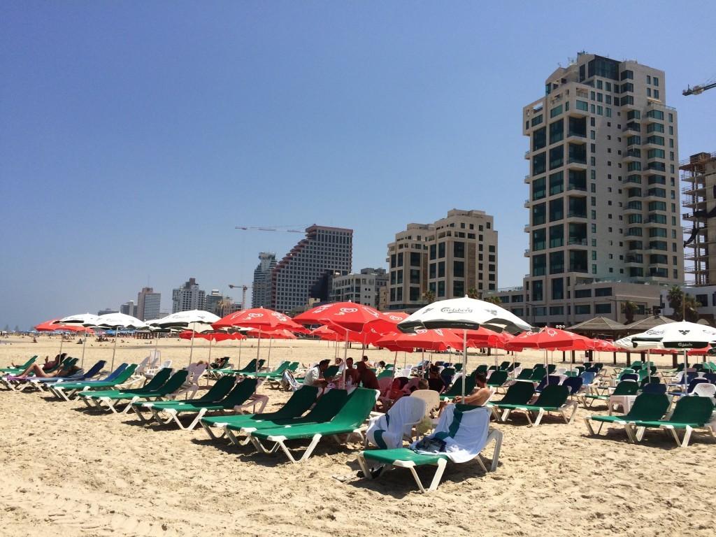 Izrael Tel Awiw plaża