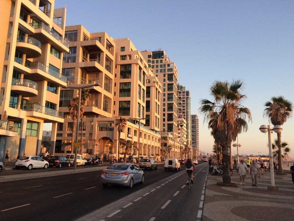 Izrael Tel Awiw promenada