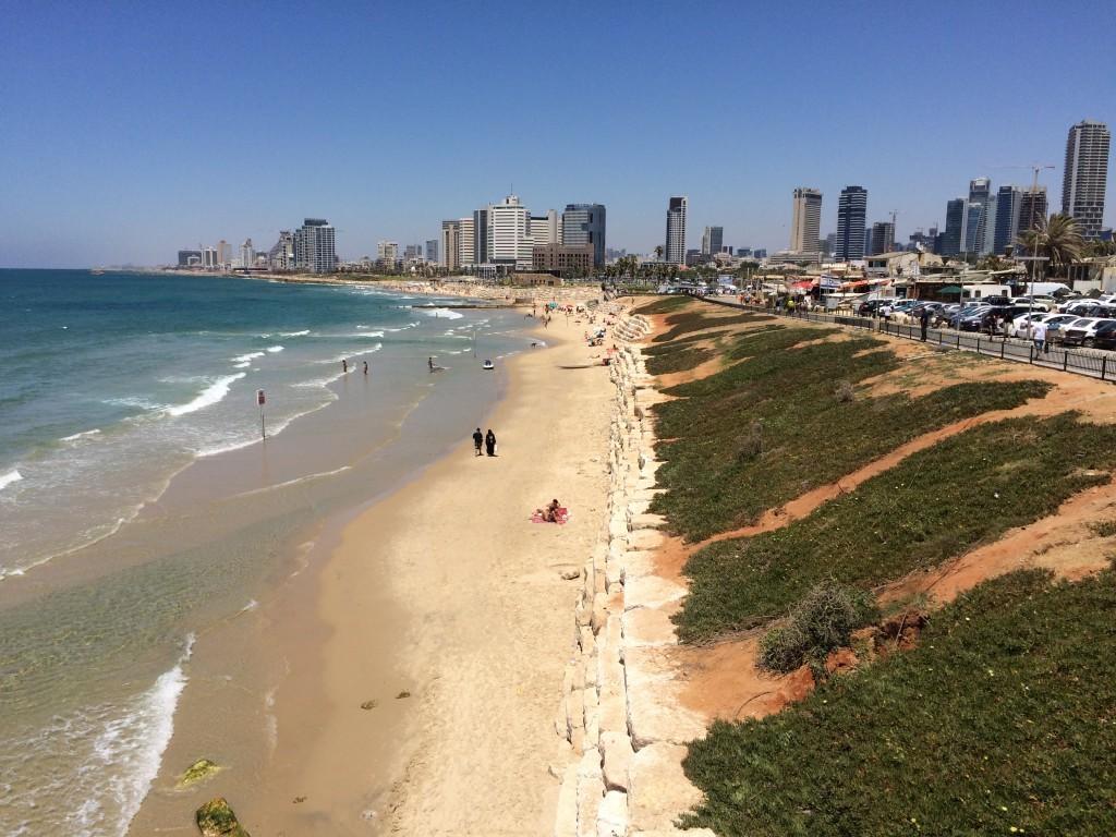 Izrael Tel Awiw plaże