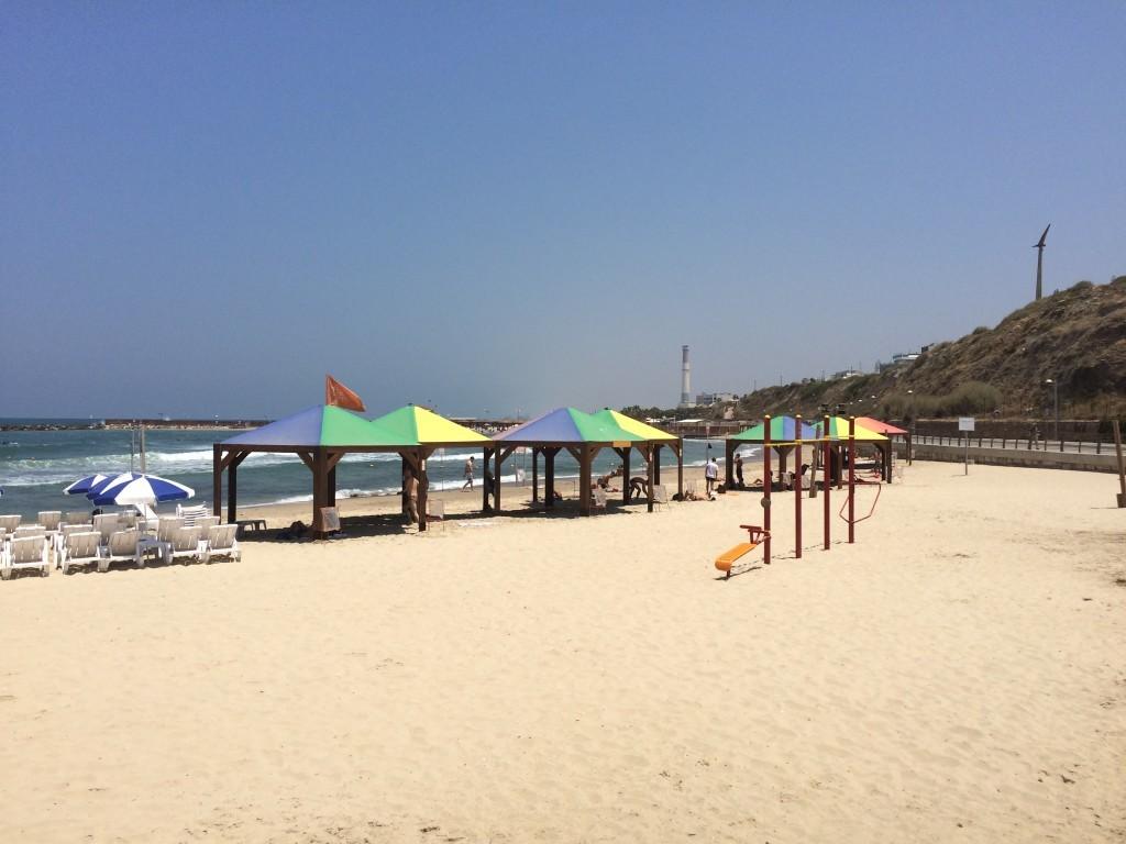Gejowska plaża w Tel Awiwie