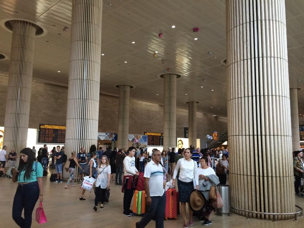Izrael Tel Awiw Lotnisko Ben Gurion