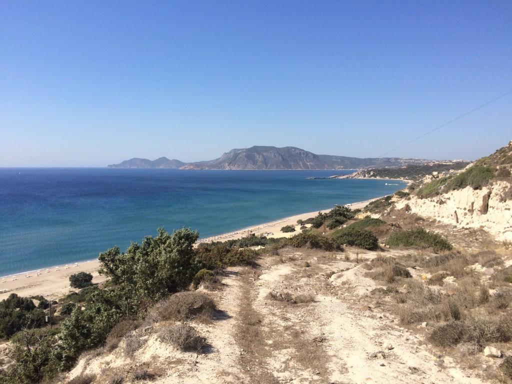 Plaże zatoki Kefalos: Camel, Paradise, Lagades, Psilos Gremos i Polemi