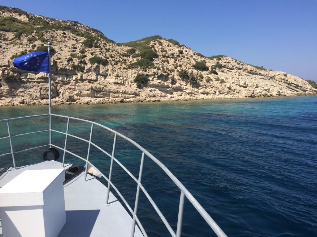 Grecja wyspa Platti