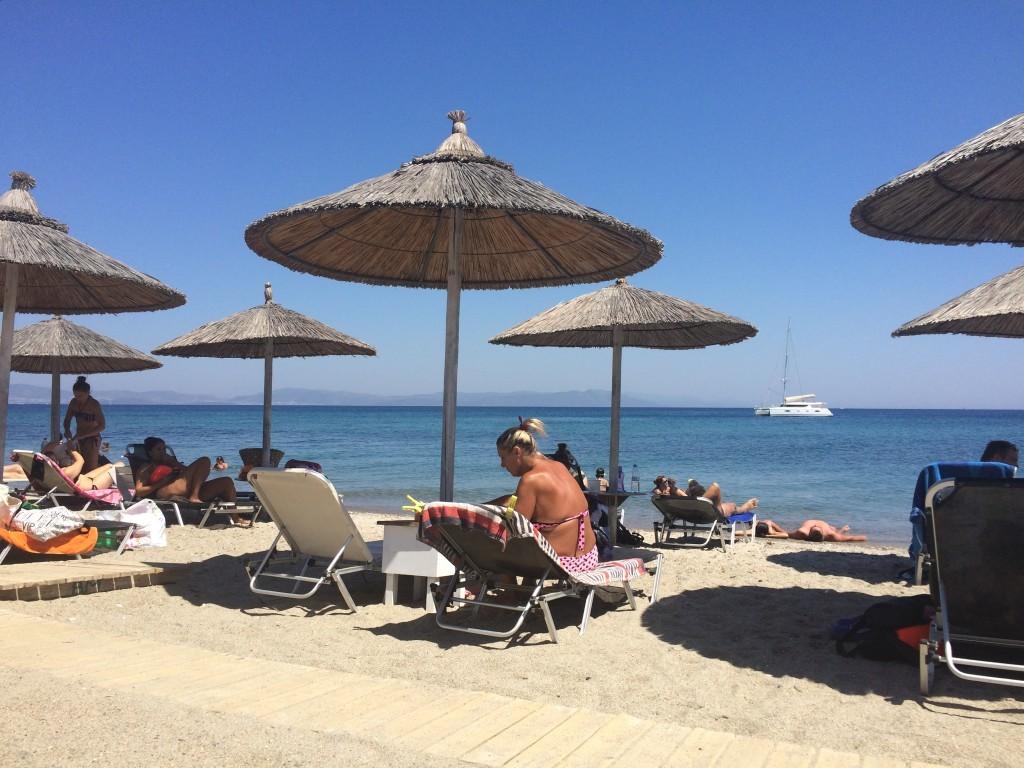 Moja ulubiona plaża AliBaba - elegancko, nie jest tłoczno, piaszczyste zejście do morza
