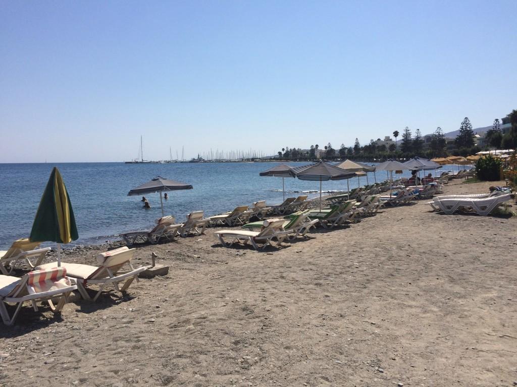 Bardzo brzydka plaża miejska