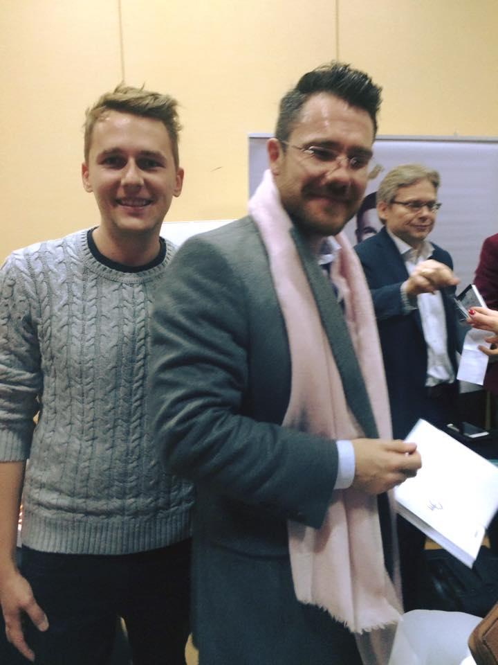 Michał Stolarewicz i Mateusz Grzesiak