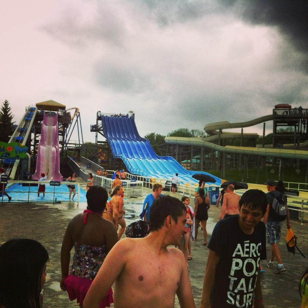 Kanada - Aquapark Splash Works w Canada's Wonderland