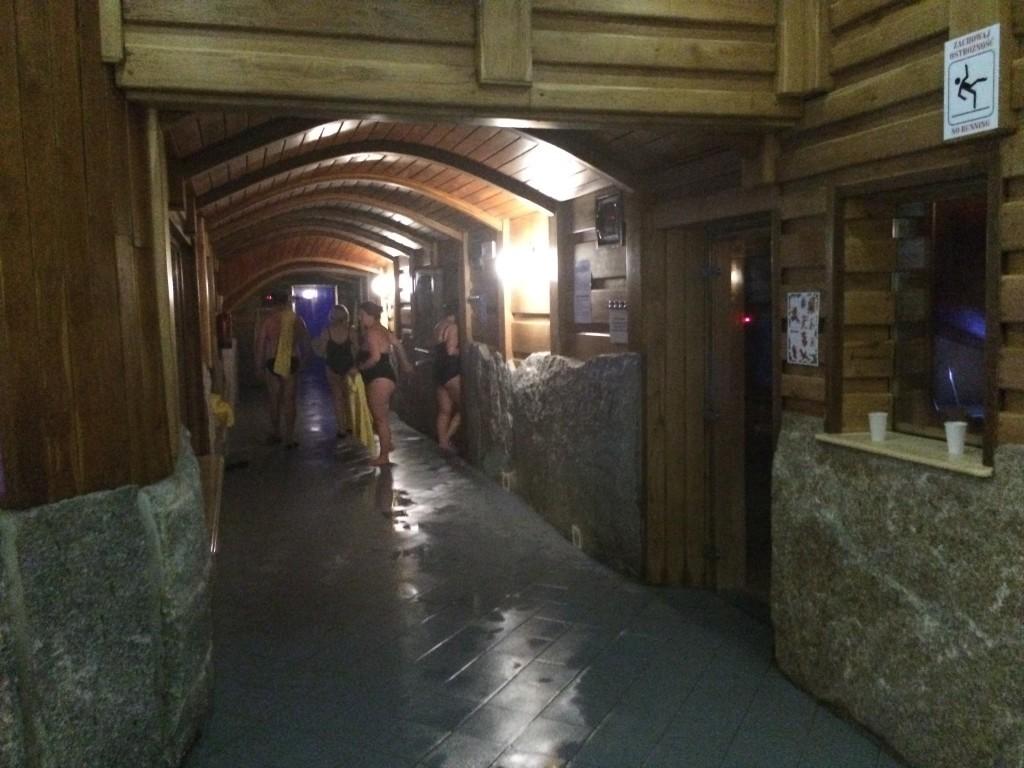 Strefa saun i łażni