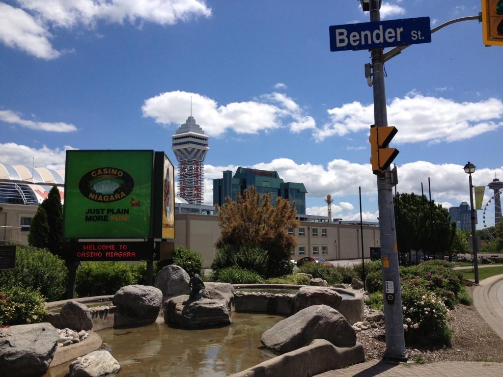 Wejście do Kasyna Niagara