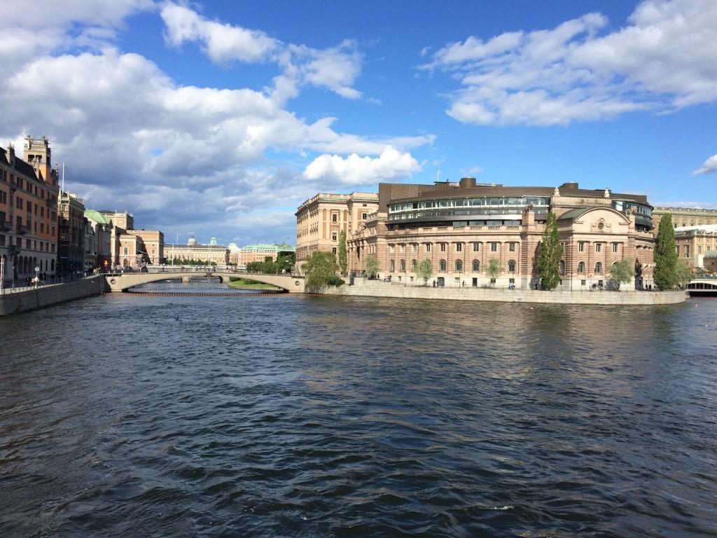 Riksdagshuset – siedziba szwedzkiego parlamentu i Szwedzkiego Banku Narodowego.