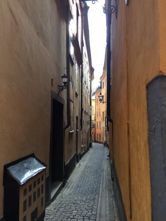 Bajkowe uliczki Sztokholmu.