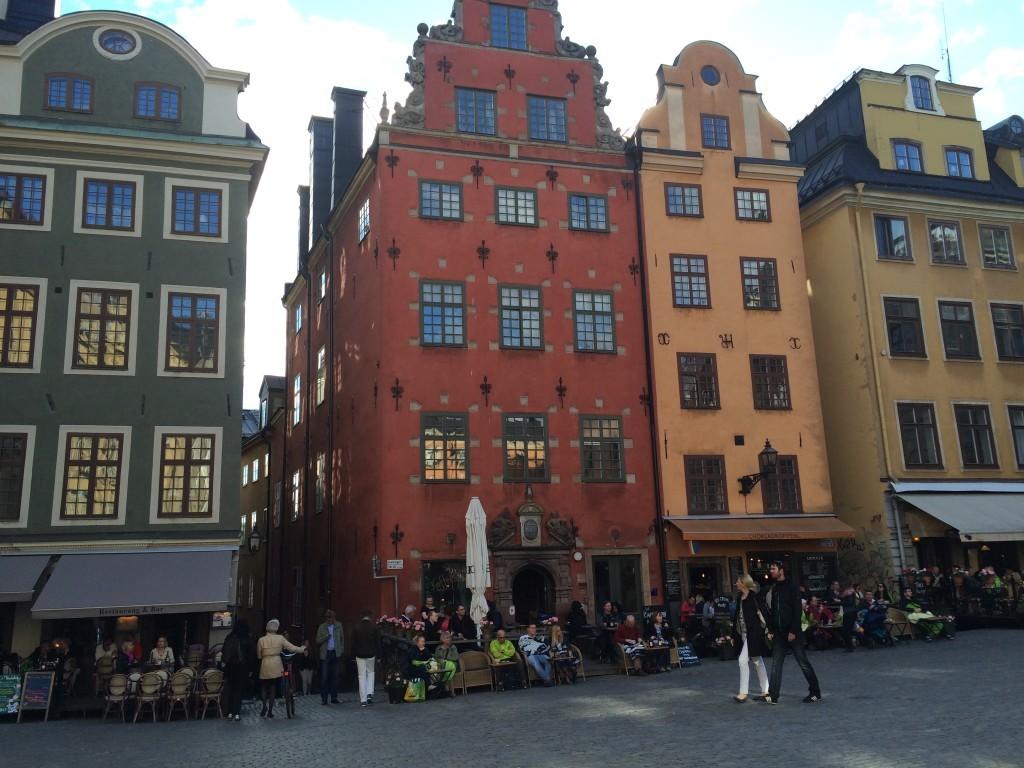 Plac Stortorget i Muzeum Nobla