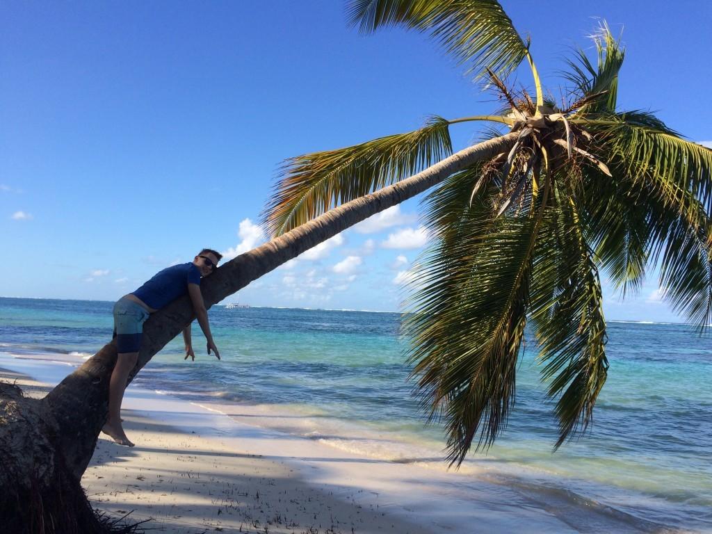 Moja ulubiona forma relaksu na wyspie - na leniwca! :)