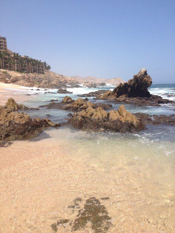 Plaże Cabo San Lucas Baja California Meksyk