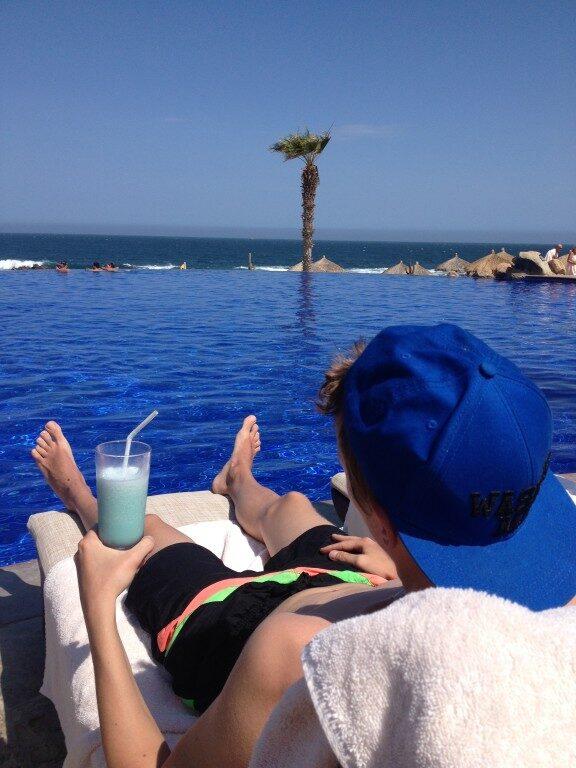 Nic mi więcej do szczęścia nie potrzeba… plaża, słońce, drink i mój ukochany Meksyk!