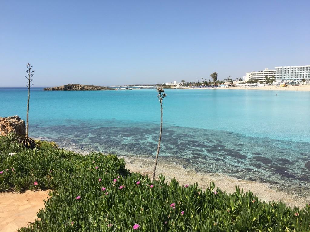 Zatoka plaży Nissi Beach