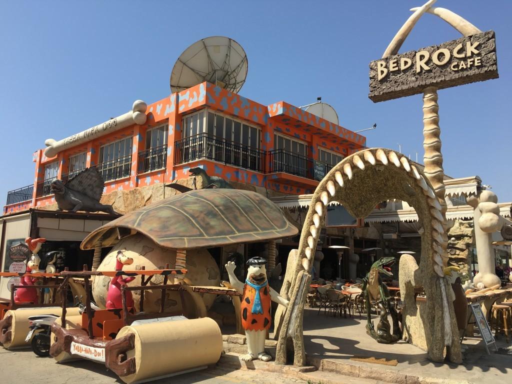 BedRock Cafe - moje ulubione miejsce w Ayia Napa.