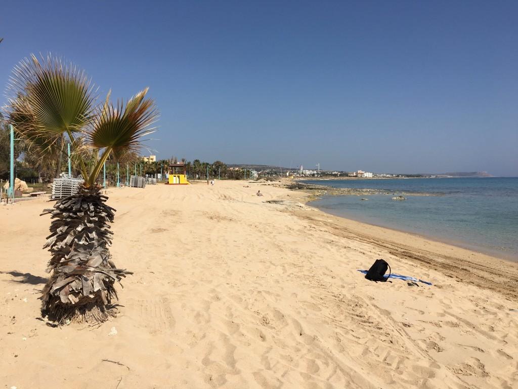 Cypr Ayia Napa plaże Pernera