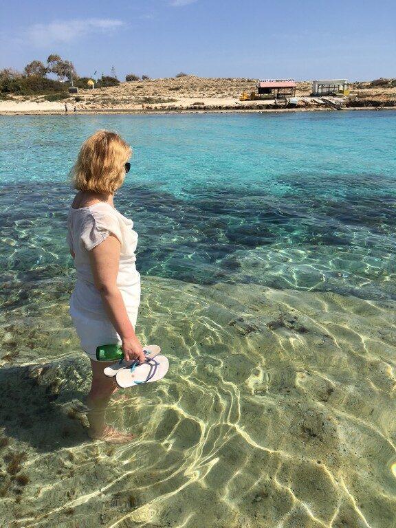 Cypr Ayia Napa plaże Vathia Gonia