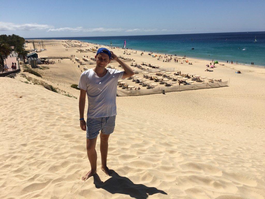 Fuerteventura to bardzo wietrzna wyspa.