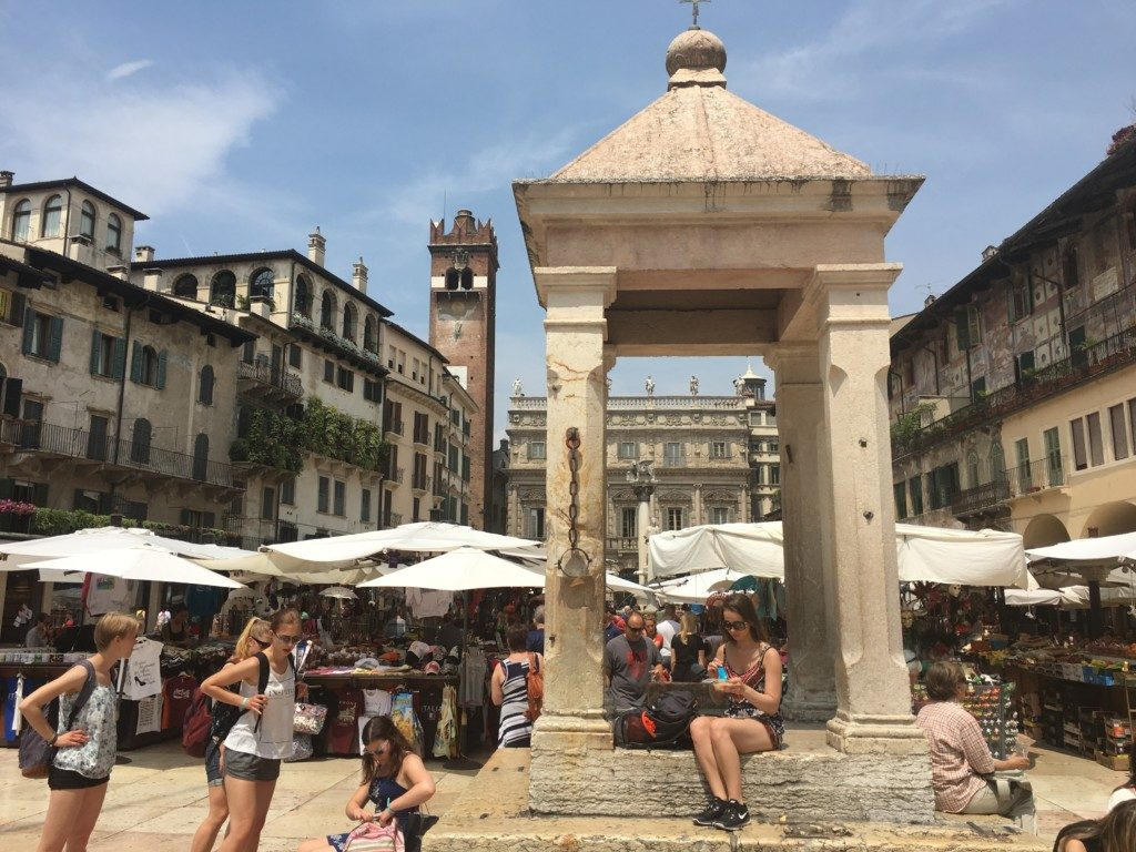 Werona Włochy Romeo i Julia